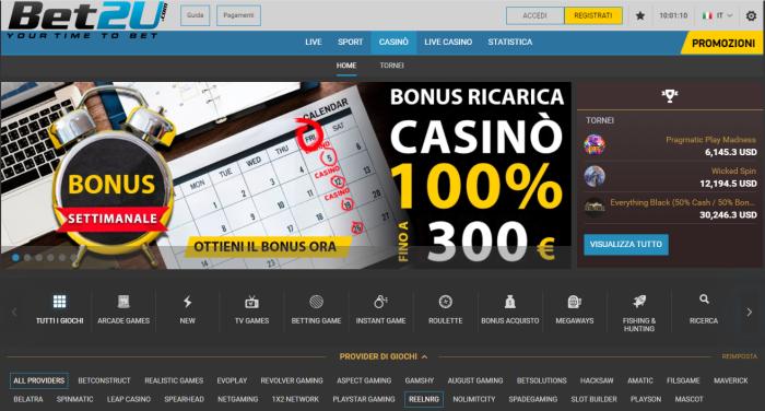 Bet2U Casinò Online